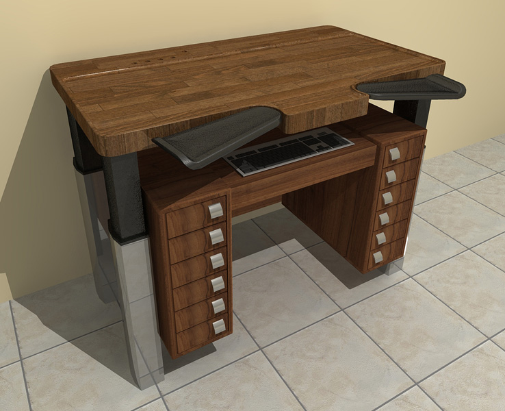 Fia Product Work Bench For Watchmaker